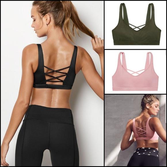 20f9e75717 Victoria sport crisscross back sport bra. NWT. Victoria s Secret